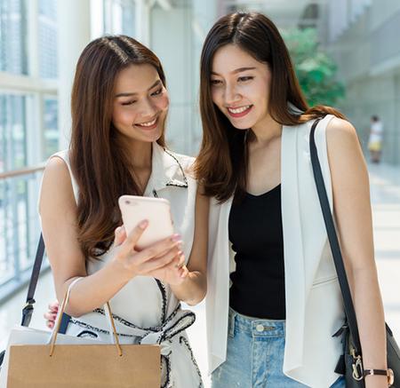 日本人女性二人